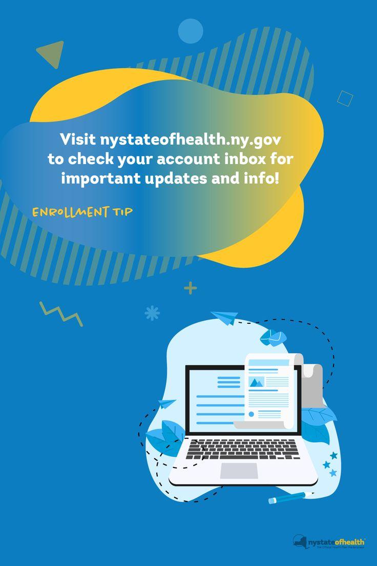 www.nystateofhealth.ny.gov inbox