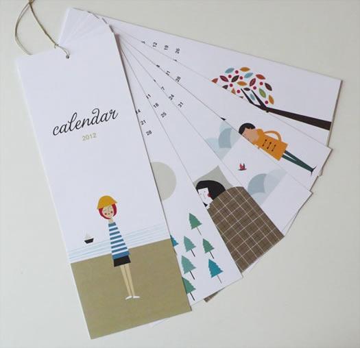 calendar notecards