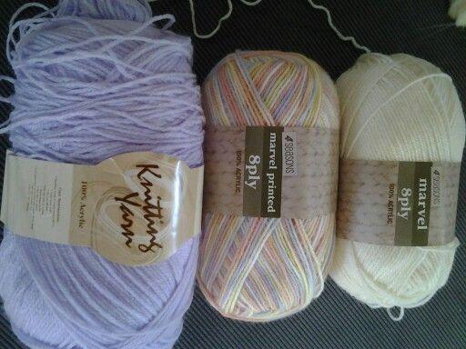 Colour  choice for Wonder Crochet along 2016