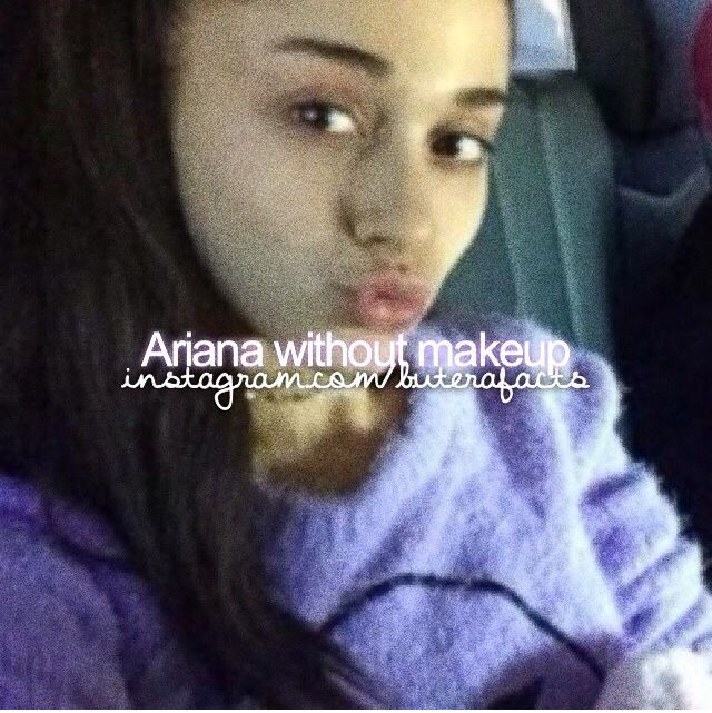 gorgeous with or without makeup.♥