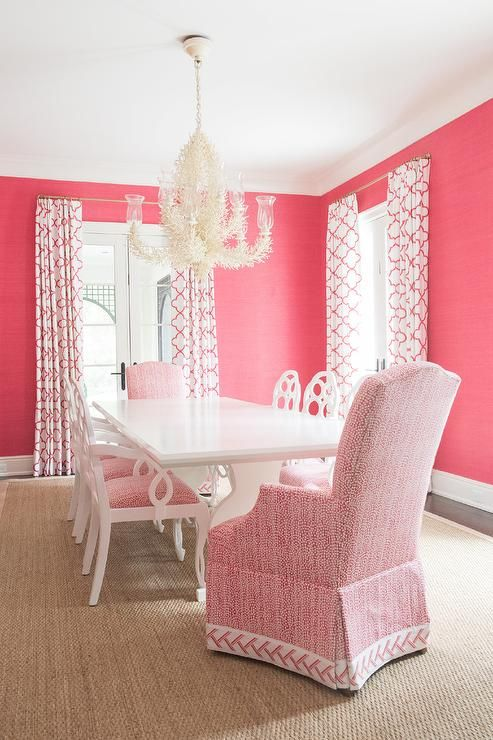 Best 20 Pink dining rooms ideas on Pinterest  Pink