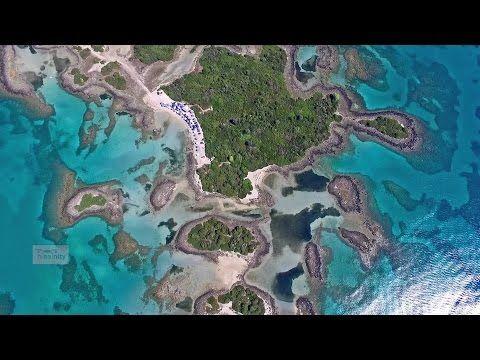 Οι Μπαχάμες της Ελλάδας- Λιχαδονήσια | The Greek Bahamas Lichadonisia Drone Greece - YouTube