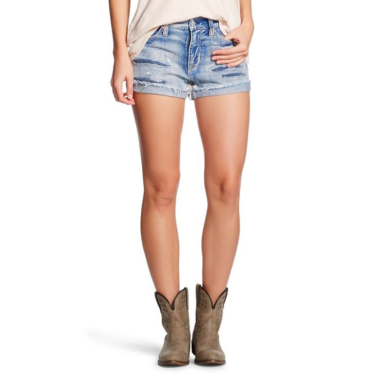 Women's High Rise Jean Short Gray 00 - Mossimo, Variation Parent