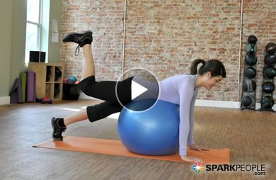 New YOU Bootcamp: 9-Minute Thigh Toning Workout Video