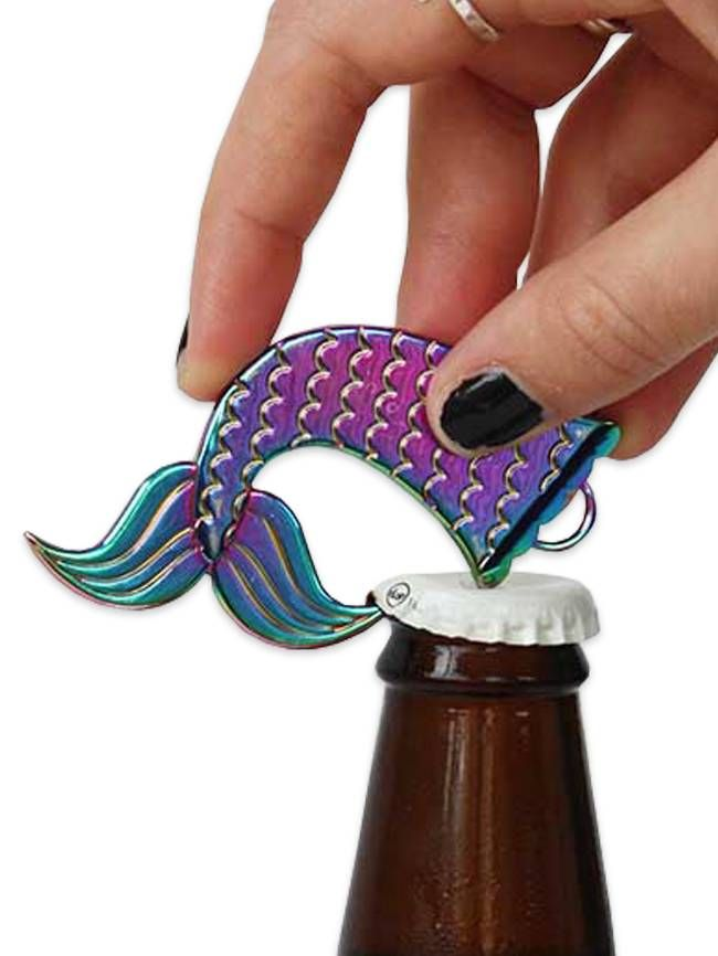 The Mermaid Bottle Opener Is The Perfect Addition To Your Keychain