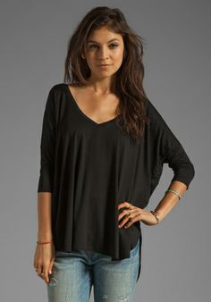 This is the ONLY bla     This is the ONLY black top you will need!  It will last forever and it is super comfy!