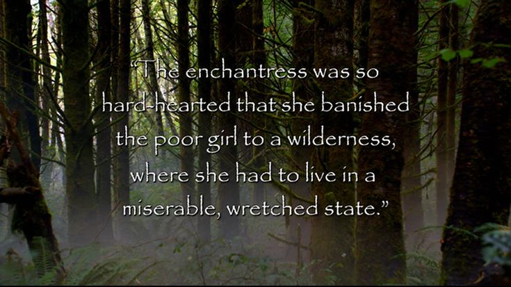 """""""The enchantress was so hard-hearted that she banished the poor girl to a wilderness, where she had to live in a miserable, wretched state."""" (Rapunzel)  #Grimm #TV #Quotes"""