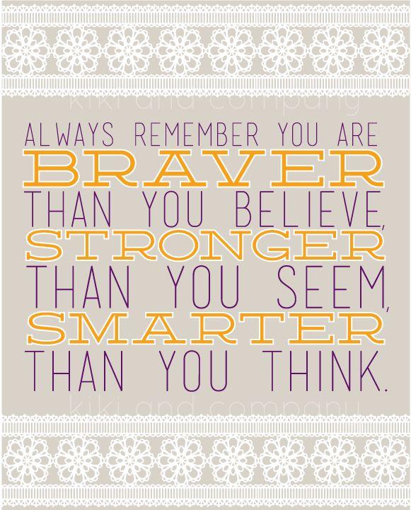 "OCTOBER INSPIRATION- ""always remember""!"