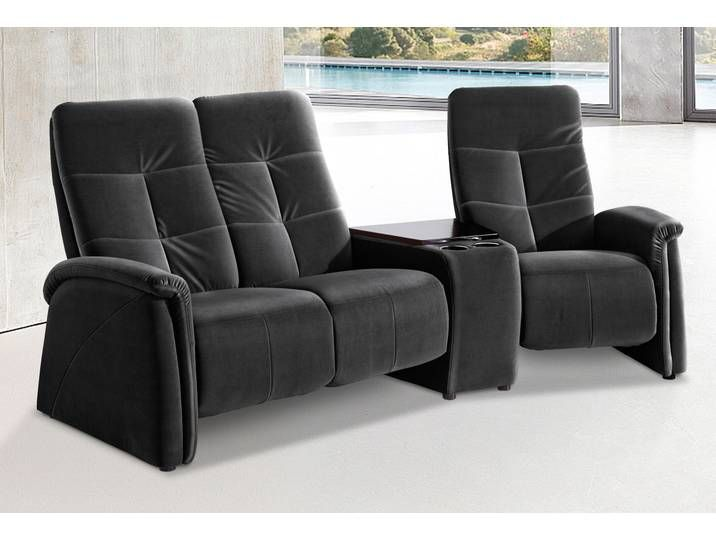 Exxpo Sofa Fashion 3 Sitzer Mit Relaxfunktion Schwarz Kunstleder Sofa Design Sofa Inspiration Best Sofa