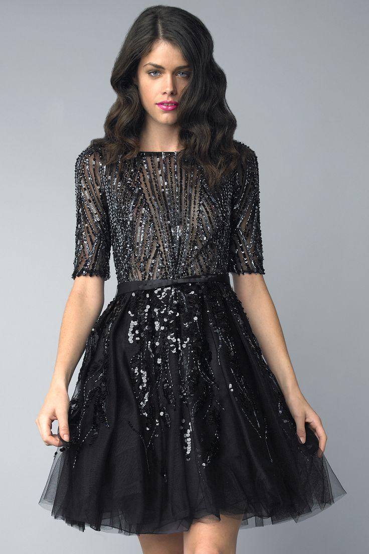 Black cocktail dress uk online