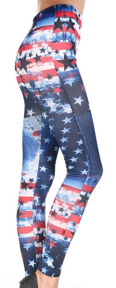 Women's LIMITED SALE American Flag Leggings