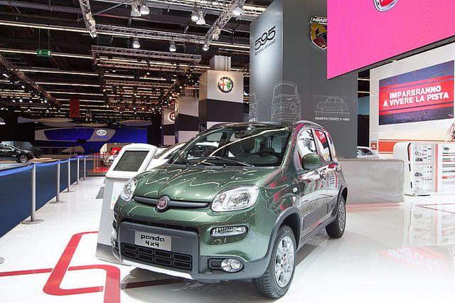 #Fiat #Panda4x4 at 65th International Motor Show IAA 2013 in Frankfurt