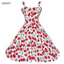 ZAFUL Summer Dress 2016 Vintage Рокабилли Dress Jurken 60 s 50 s Ретро Большие Качели Цветочный Pinup Короткие Длинные Одри хепберн Платья(China (Mainland))