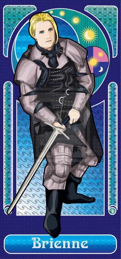 Brienne of Tarth by ~tfilipova on deviantART