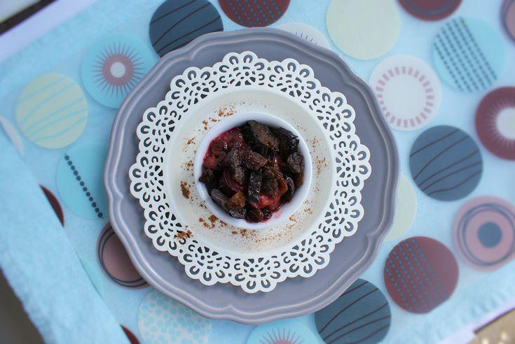 CYKORIA - duszone śliwki do mięsa na słodko