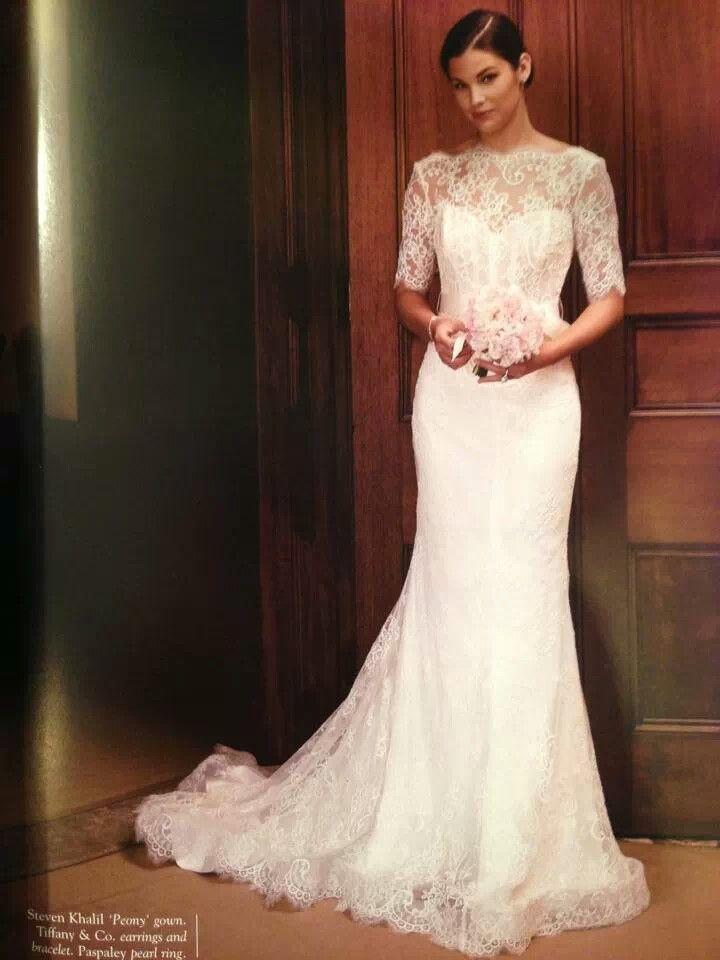 By Far My Favorite Wedding Dress Designer Steven Khalil Fashion