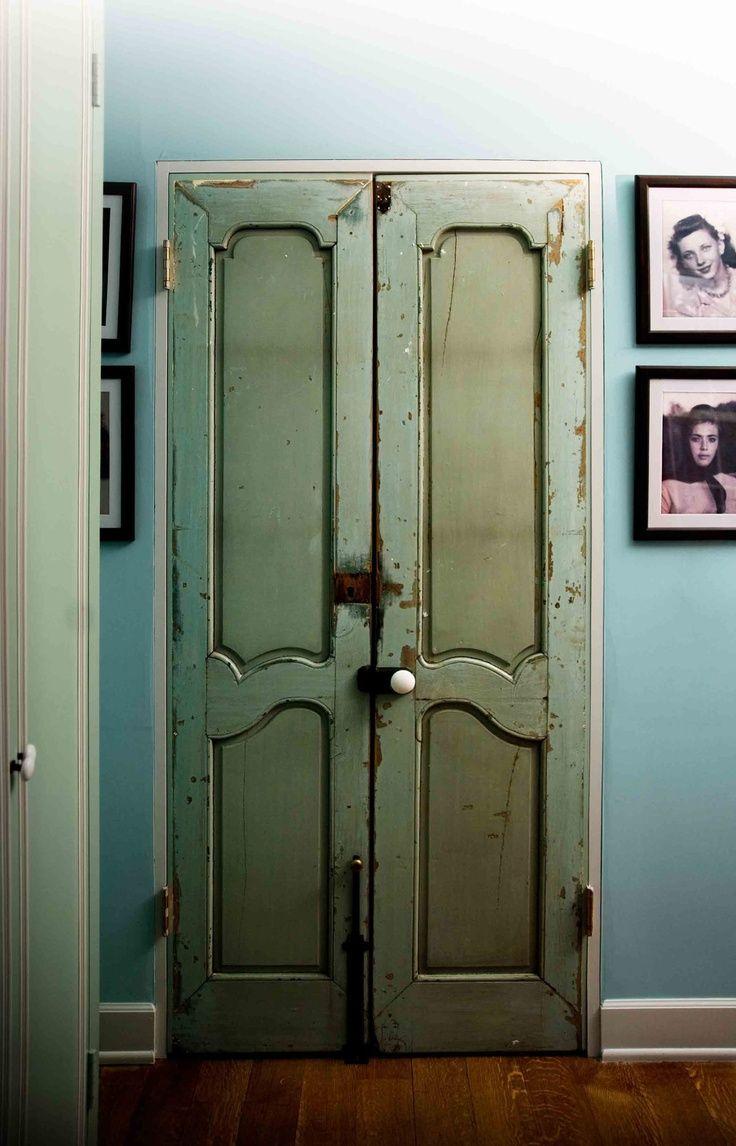 Rustic Closet French Doors My Dream Bedroom Pinterest Doors