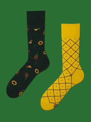 pineapples - socks by many mornings