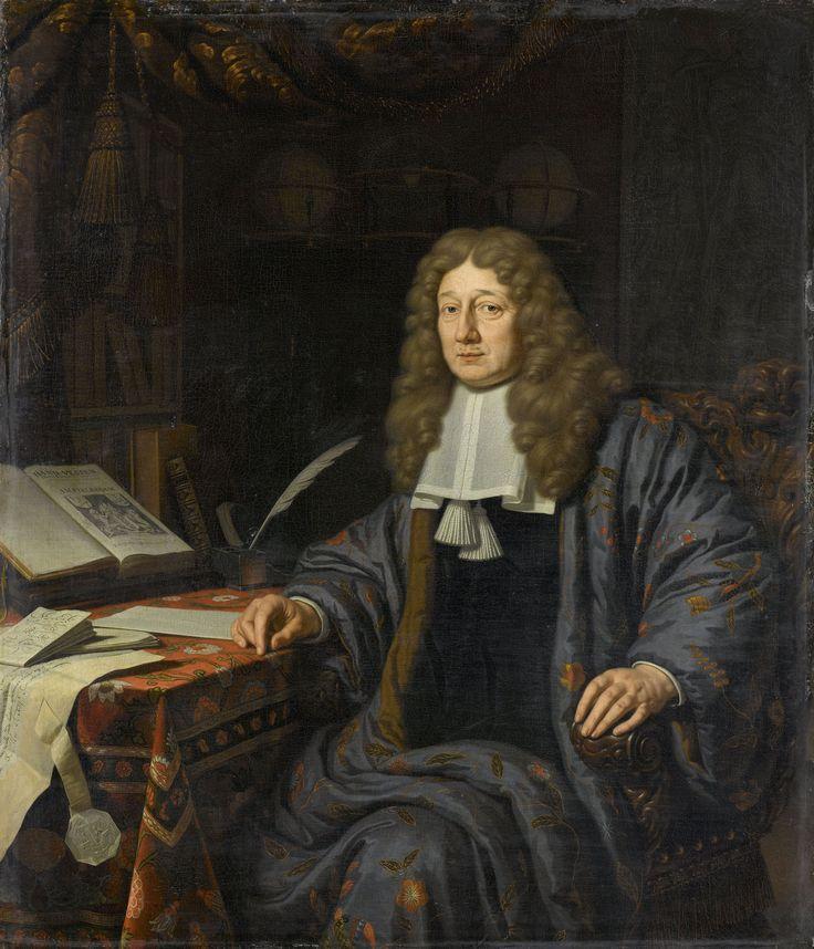 Johannes Hudde (1628-1704). Burgemeester van Amsterdam en wiskundige, Michiel van Musscher, 1686