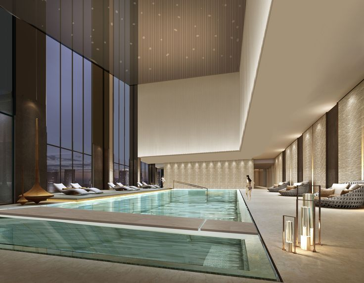 64 best pool images on Pinterest Indoor pools, Interiors and Pool spa - construire une maison au mali