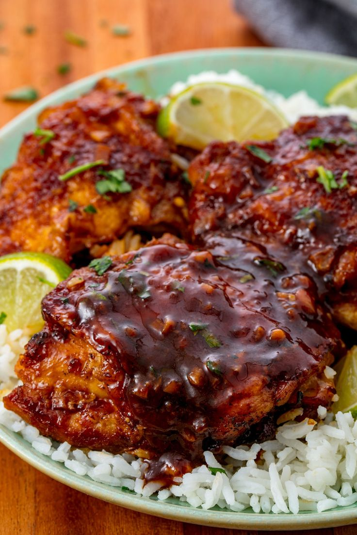Slow Cooker siracha Chicken Thighs
