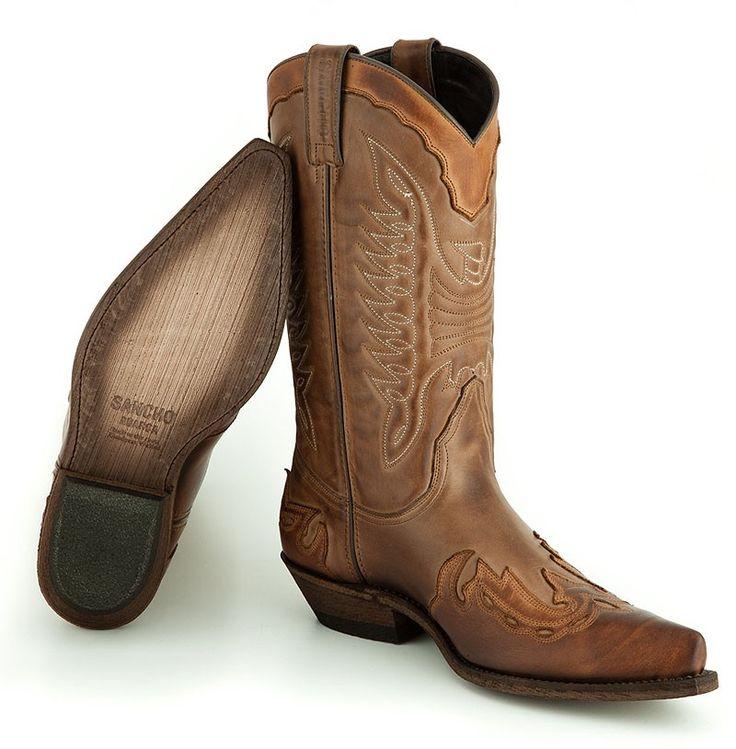 Neu aufgelegter Klassiker. Cowboystiefel Rio Grande -Sancho Abarca Boots 5119 STBU TAUPE/STBU ECOTA http://www.sancho-store.ch/de/sancho-abarca-boots-1/rio-grande-taube-ecota.html