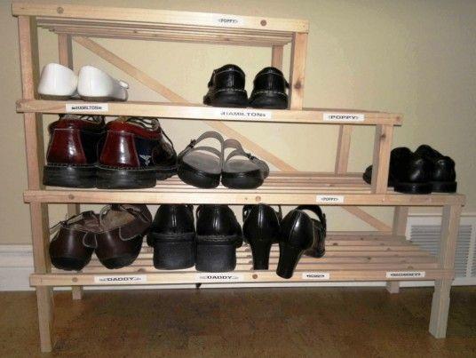 Best 25+ Best Shoe Rack Ideas On Pinterest | Hanging Shoe Organizer, Shoe  Storage And Dorm Shoe Storage Part 72