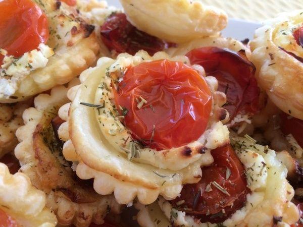Mini tartelettes tomate cerise