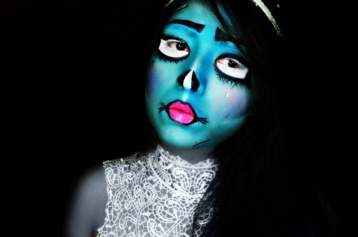Halloween makeup tutorial here! http://www.youtube.com/watch?v=jo5Gj0LLmi8 #halloween #makeuptutorial #fall13