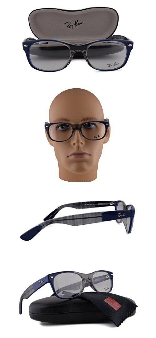 0f683af6968 Ray Ban RX5184 Eyeglasses 52-18-145 Gradient Grey On Blue 5516 RX 5184