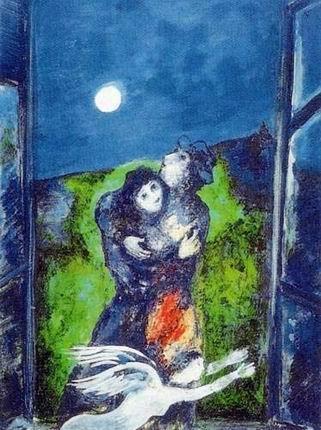 Amanti al chiaro di luna