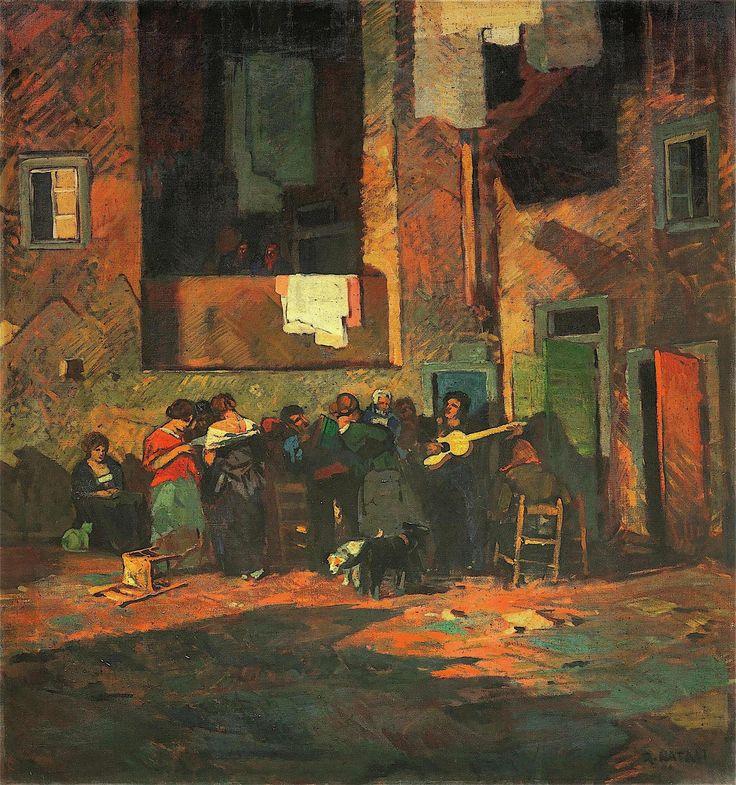 Renato Natali (Livorno 1883 - 1979) Ombre e suoni