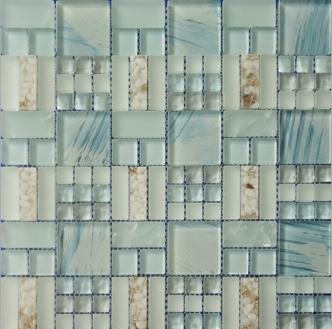 sea glass tile - Google Search