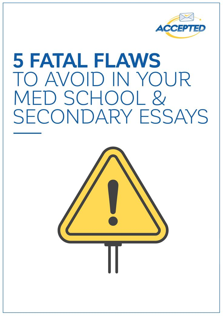 38 best Secondary Applications for Medical School images on - school essay