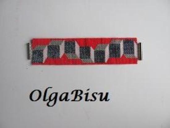 Todos las piezas pueden ser en otras colores y tamaños. Pulseras, Abalorios Miyuki, y cuentas Miyuki Delica Para tiendas, contacteme, por favor al olgabisu@gmail.com  Gastos de envio GRATIS + 50€