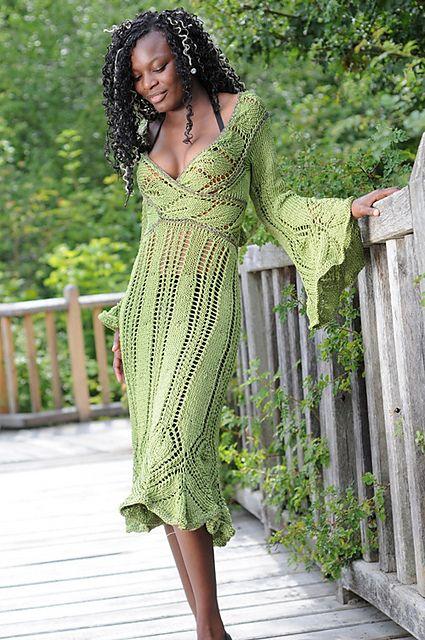 Leavy - Kleid/dress by Sylvie Rasch from Ravelry
