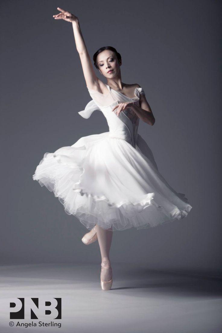 """Kaori Nakamura, """"Giselle"""", Pacific Northwest Ballet - Photographer Angela Sterling"""