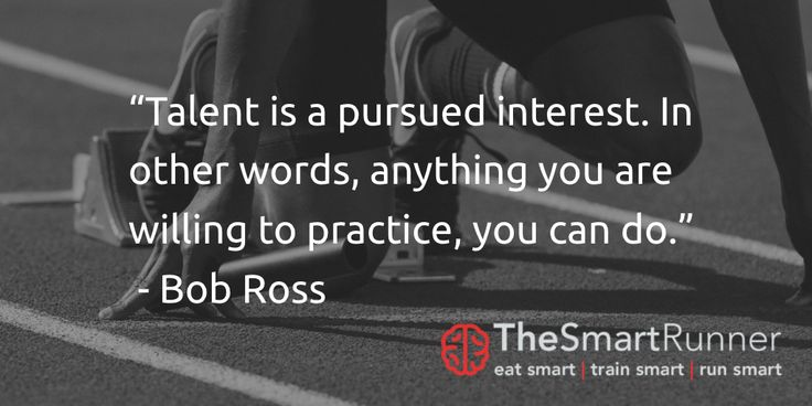 """""""Talent is a pursued interest. In other words, anything you are willing to practice, you can do.""""  - Bob Ross"""