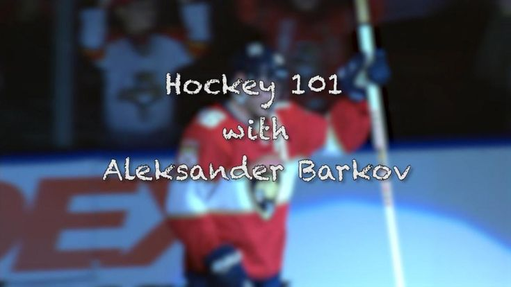 Video analysis of the two-way, 200-foot game of the Florida Panthers' Aleksander Barkov.