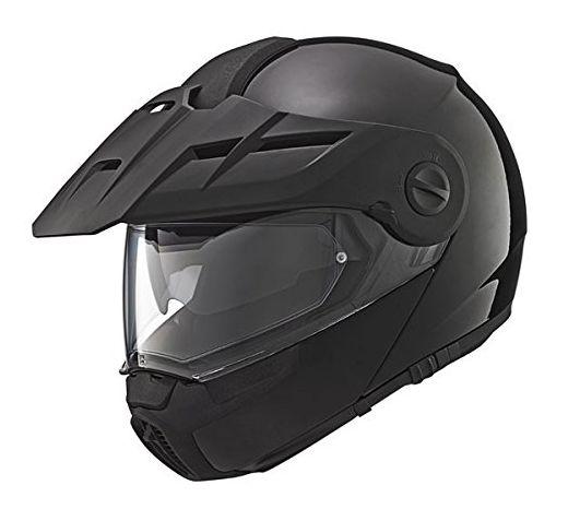 Schuberth E1 Gloss Black Motorcycle Helmet