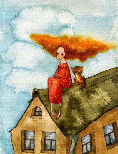 ТАККАЯ                       : Ну и пусть говорят, что у меня ветер в голове, но ...