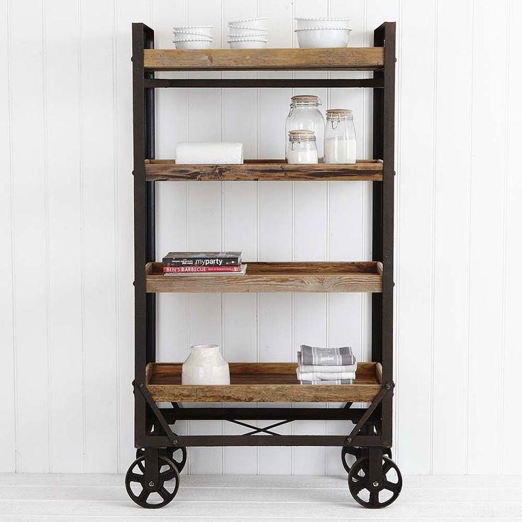 Provincial home living shelves