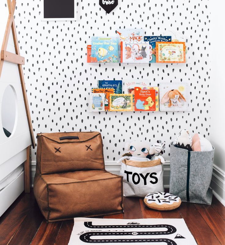 Black in playroom
