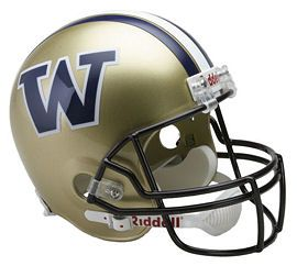 UW huskies football helmet | University of Washington Huskies Replica Football Helmet by Riddell