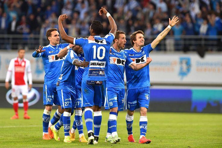 Gent kampioen!,KAA Gent is kampioen van België!, AA Gent -Standard 2-0 G...