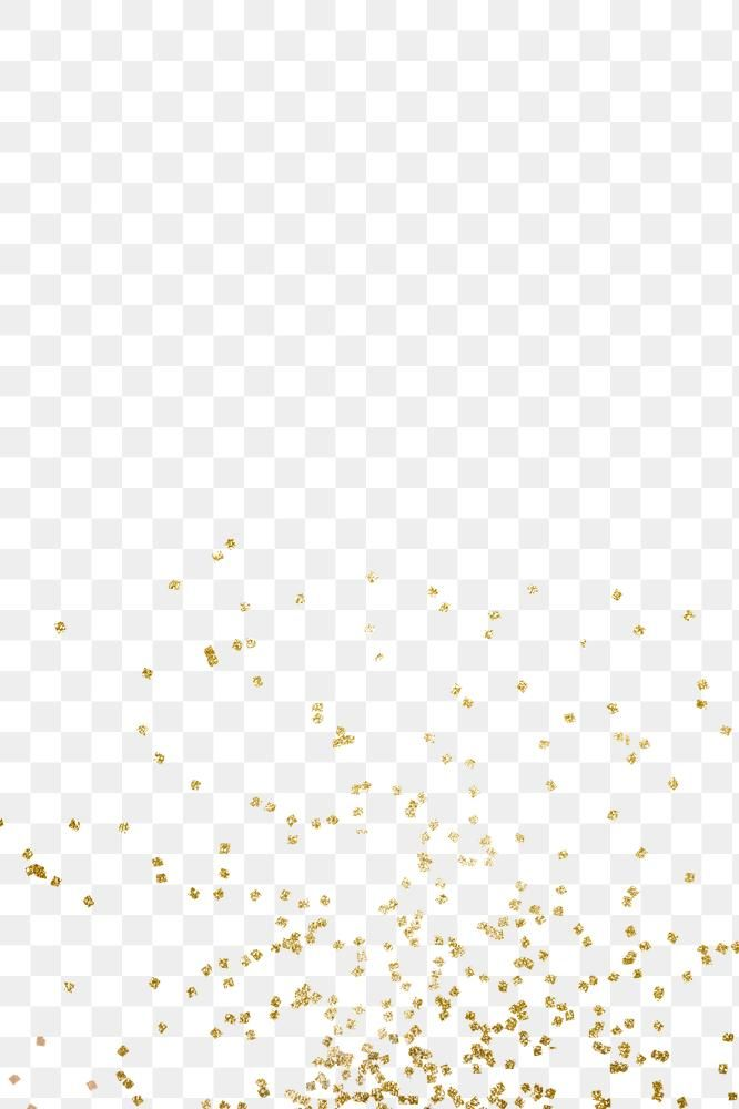 Shimmering Gold Confetti Design Element Free Image By Rawpixel Com Adj Design Element Gold Confetti Glitter Overlays