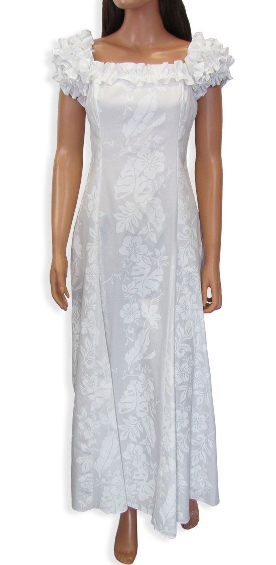 25 best beach wedding gowns images on pinterest for Hawaiian wedding dresses plus size