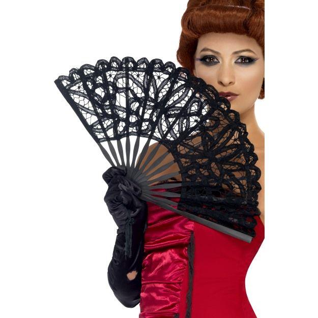 Gothic Fan Black