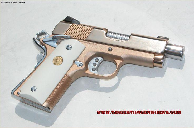 Rose gold gun