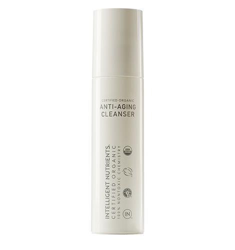 "$45 Intelligent Nutrients Anti-Aging Cleanser- Beauty Idealist recommends and says: ""What it lacks as a actual 'cleansing' agent, it makes up for in the nutrients department. This feels more like a skin conditioner than a real cleanser because most of what I rub around my skin isn't even washed off, it seems to be absorbed by skin! I really like the wonderfully healthy ingredients list that boasts food-grade ingredients such as Apple Juice, Pumpkin Oil, & Cranberry Oil."""